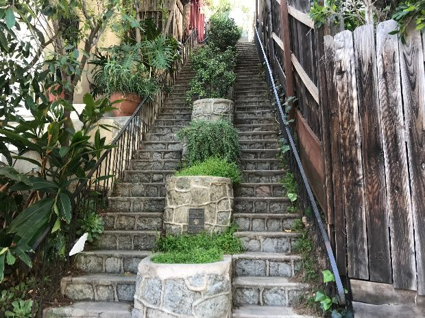Image result for beachwood canyon secret stairs