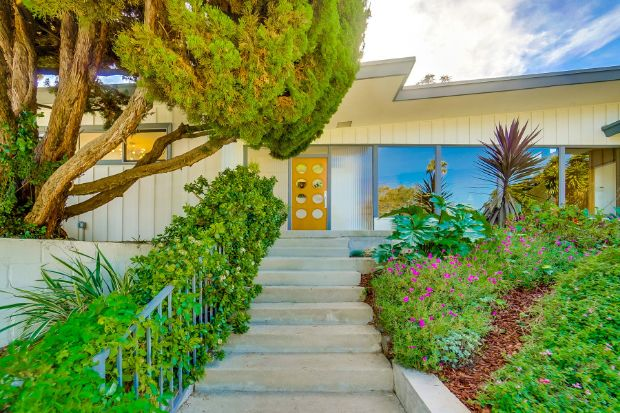 This Is A Quintessential Mid Century Modern Stunner Three Bedrooms Two Baths Stylish Kitchen Bonus Room Lots Of Yard E And Located In The